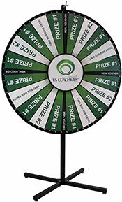 Custom Prize Wheels - Branded Prize Wheel Game