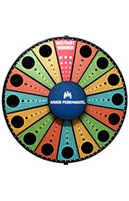 Custom Prize Wheels - Branded Prize Wheels